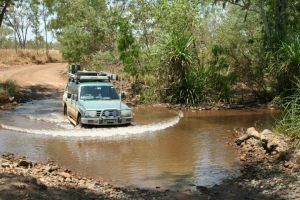 1227_6-10_creek_crossing_into_Silent_Grove_campground_-_Gibb_River_Road